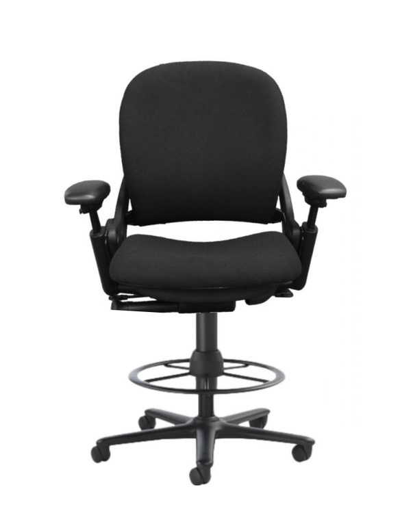 Steelcase Leap V1 Drafting Work Stool Chair