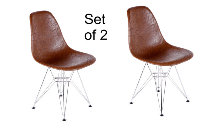 Vincent Dining Chair Set of 2 by Fine Mod Eames Style