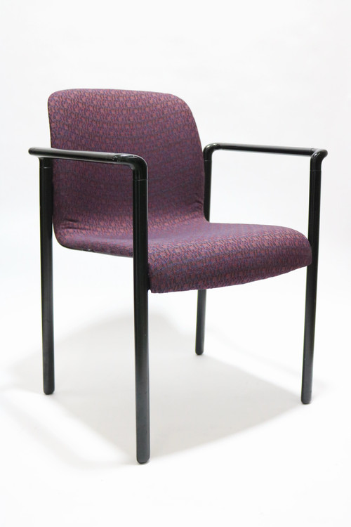 Herman Miller Aside Chair Purple Fabric