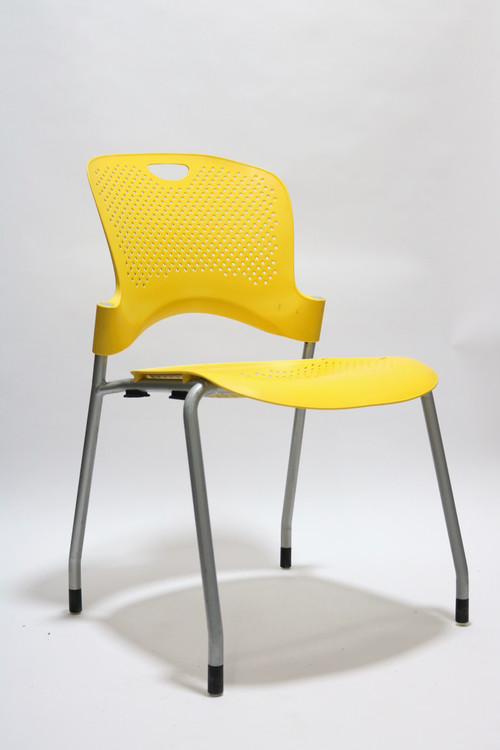Herman Miller Caper Side Chair Yellow