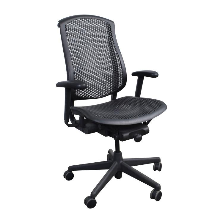 Herman Miller Celle Chair in Black Flex Seat