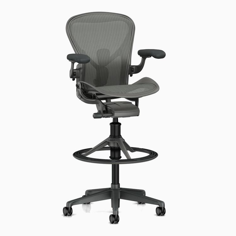 Herman Miller Aeron V2 Remastered Posturefit SL Stool Chair, Brand NEW Size B