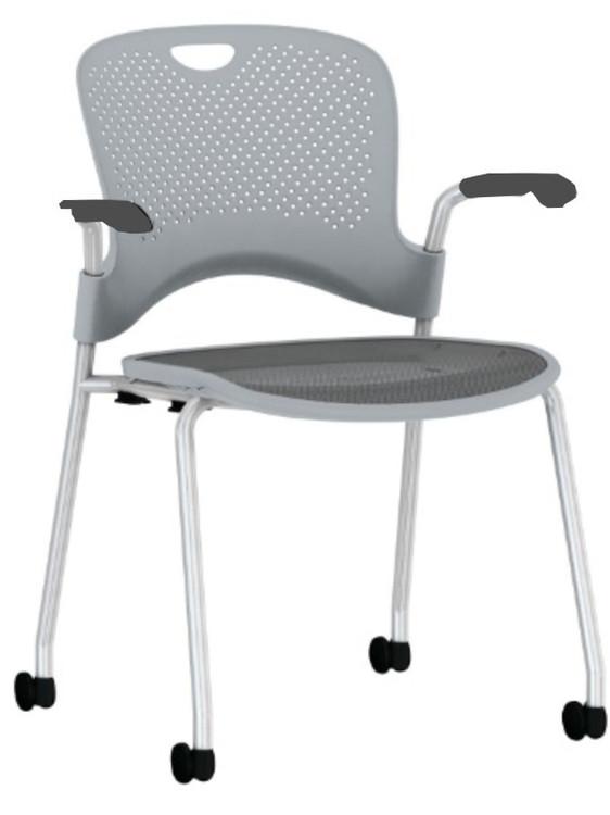 Herman Miller Caper Side Chair Gray