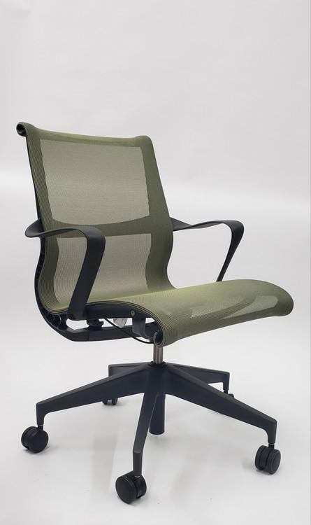 Herman Miller Setu Chair Chartreuse Apple Green