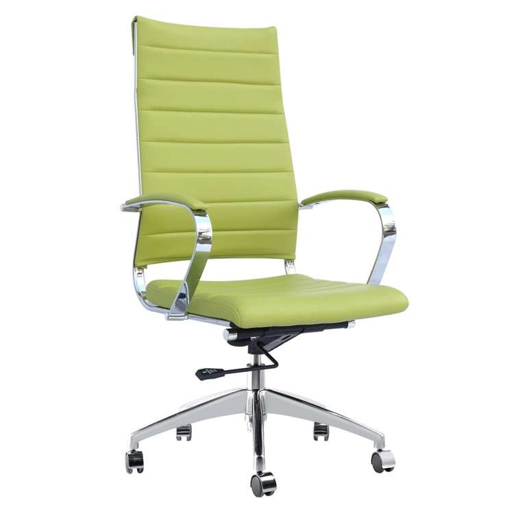 Sopada Conference Office Chair High Back, Green by Fine Mod