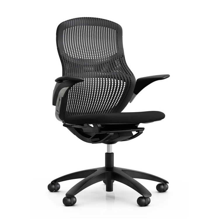 Knoll Generation Chair Fully Adjustable Model Black