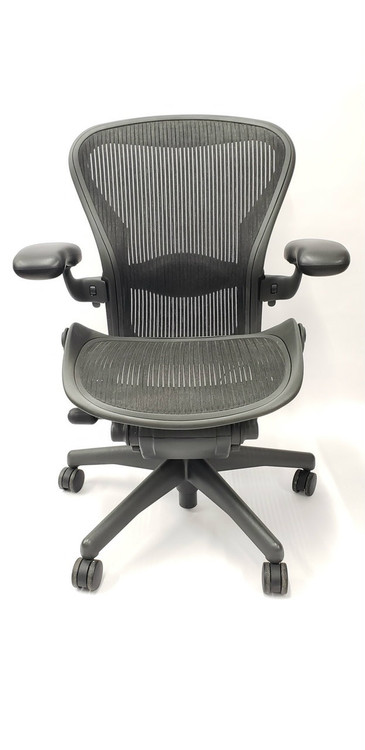 Herman Miller Aeron Chair Semi Loaded Size B (or C) Black