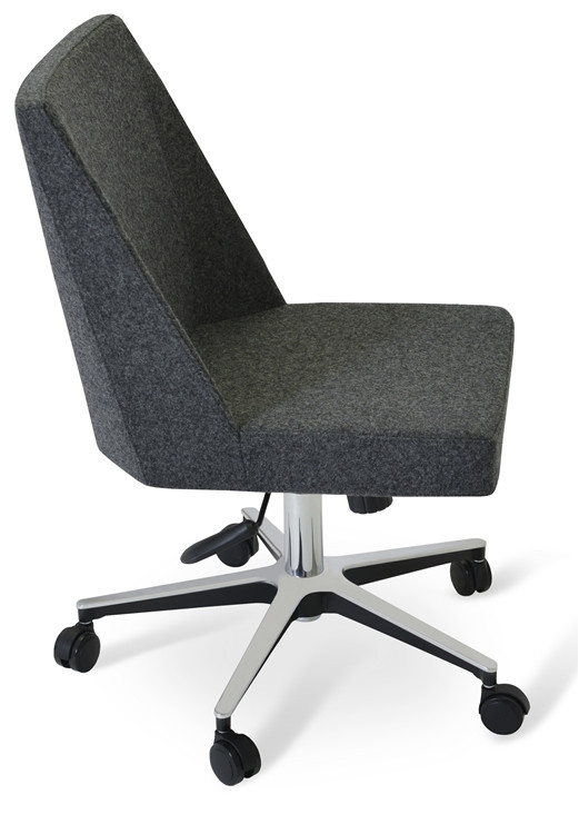 Soho Concept Prisma Office Chair in Camira Wool