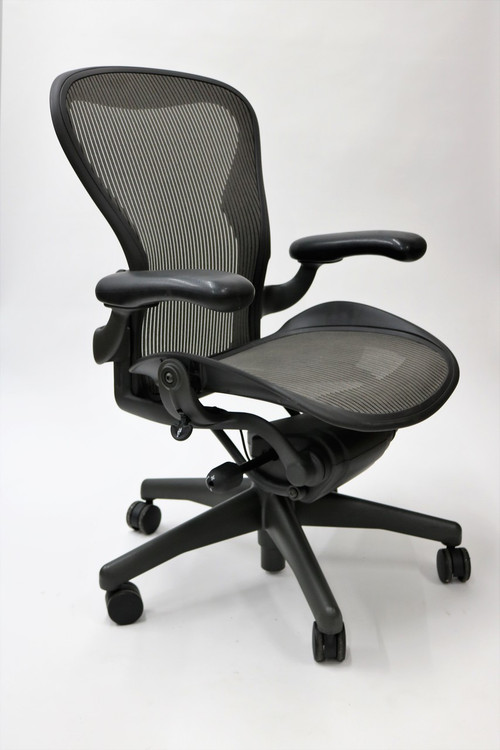 Herman Miller Aeron Chair Size B Basic Gray Model