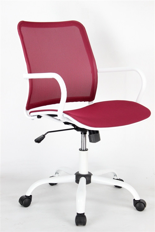 Fine Mod Adjustable Spare Office Chair Red Seatingmind Com