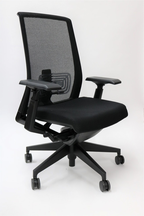 Haworth Very Chair Black Mesh Back Fully Adjustable Model