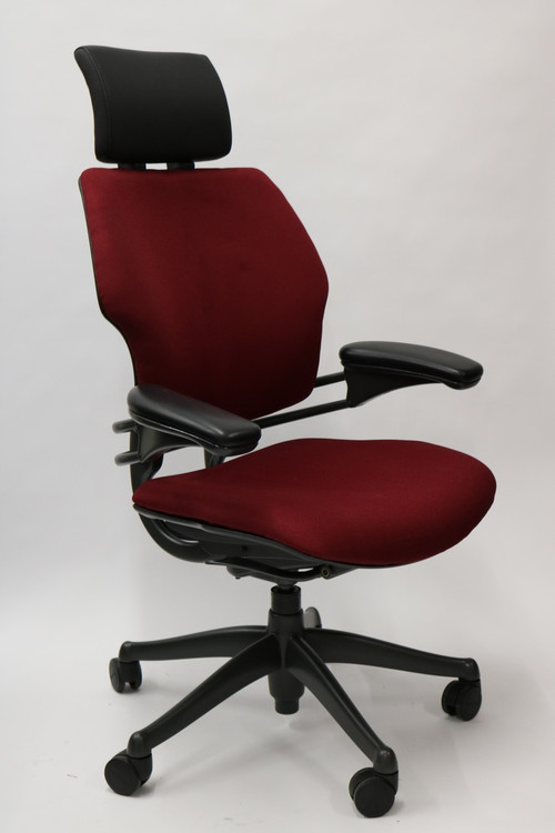 Humanscale Freedom Chair Added Headrest Fully Adjustable
