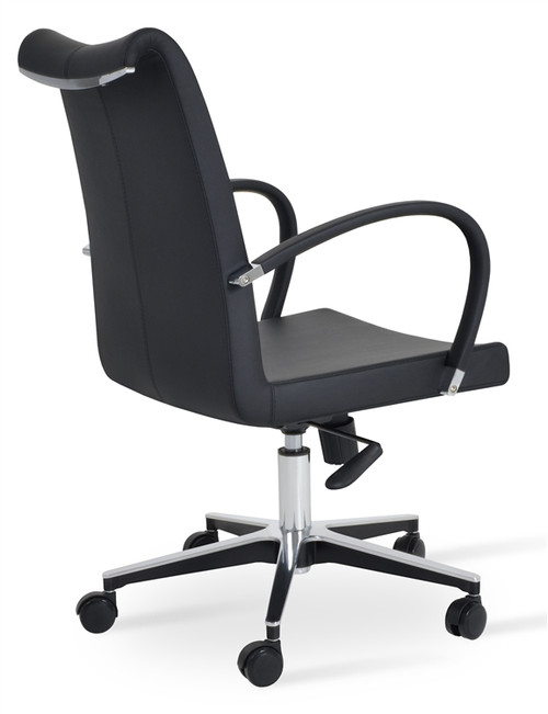 Soho Concept Tulip Arm Office Chair In Ppm Seatingmind Com