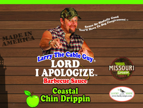 Larry the Cable Guy® Lord, I Apologize® BBQ Sauce