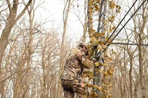 LadderFlauge Tree Stand Concealment System