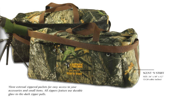 Critters Dreams Scent-Controlled Duffel Bags