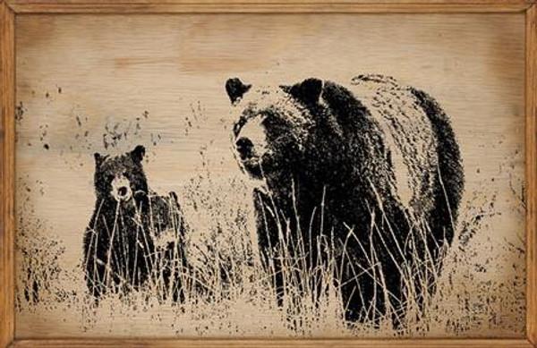Bears - Framed