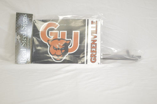 Real Steel Garden Flag W/ Stake
