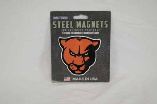 Panther Head Steel Magnet