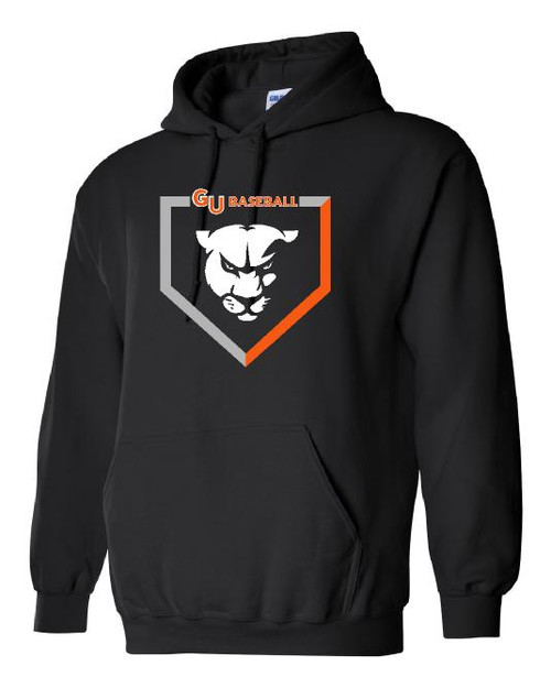 Baseball 50/50 Heavy Blend Hooded Sweatshirt