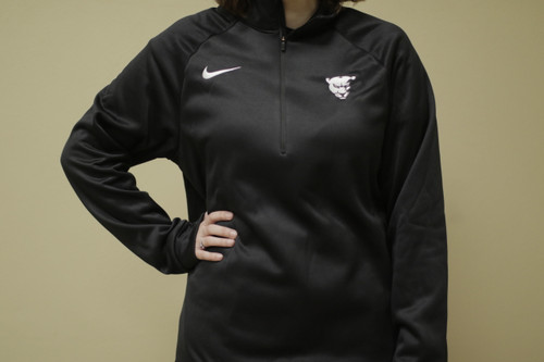 Men's Nike Therma Top Quarter Zip (Panther Head)