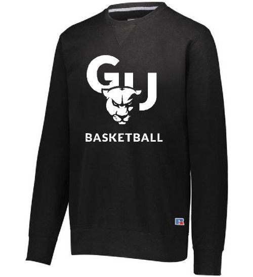 Grey Russell Athletic Basketball Crewneck