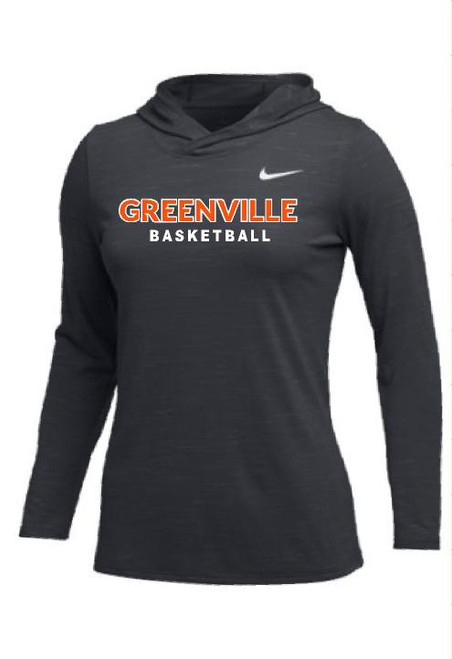 Anthracite Basketball Hooded Legend Long Sleeve