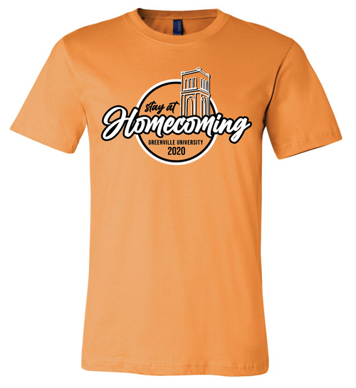 Homecoming Orange T Shirt