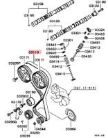 Mitsubishi Evo 9 Timing Belt OEM