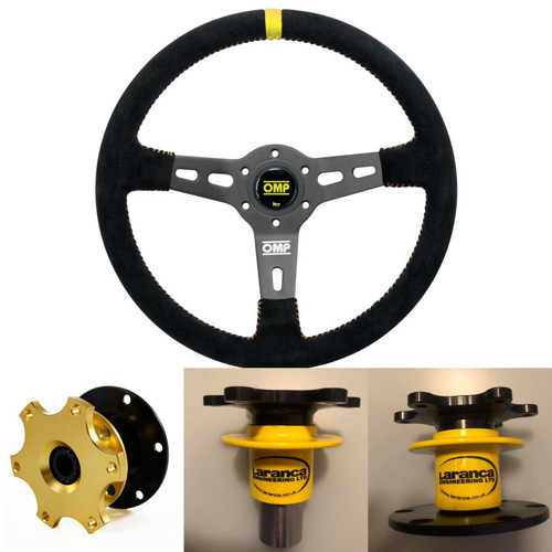 OMP RS Steering Wheel & Q-Release Boss Package