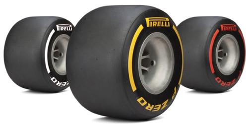 Pirelli Single Seater Formula Race Tyres