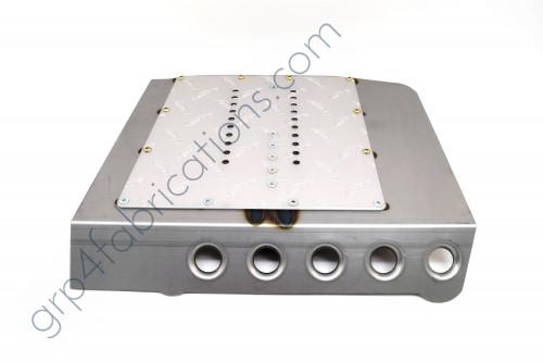 Tilton 600 Pedal Box Weld-In Baseplate