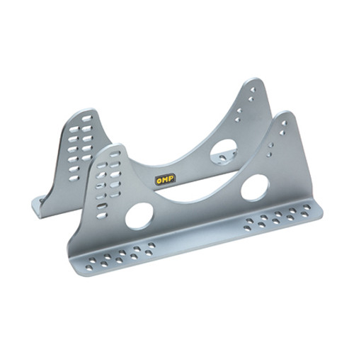OMP Single Piece Side Mount Brackets HC/833E - EARS Motorsports. Official stockists for OMP-HC/833E-