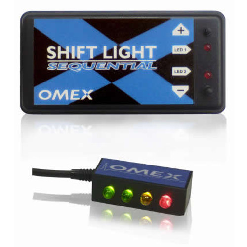 Omex Shift Light Sequential - EARS Motorsports. Official stockists for OMEX-SLS