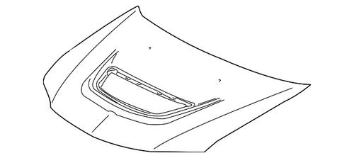 Mitsubishi Lancer Evo 8 & 9 Bonnet OEM