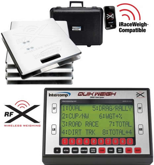 Intercomp Quik Weigh Wireless Scale System - EARS Motorsports. Official stockists for Intercomp-170126-W