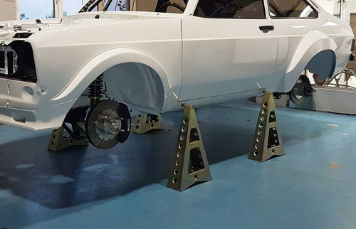 Professional WRC Style Axle Stands (Set of 4) - EARS Motorsport Ireland. Official stockists for GRP4 Fabrications-GRP5811B