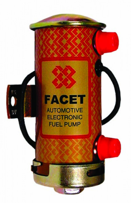 Facet Silver Top Fuel Pump (Fast Road) - EARS Motorsports. Official stockists for Facet-476459E