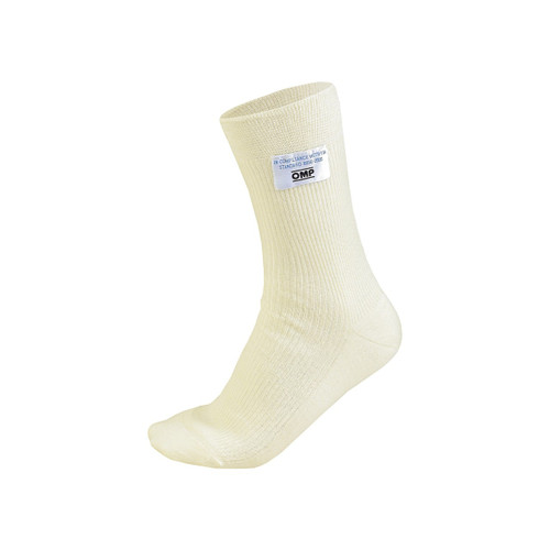 OMP Nomex Short Socks White - EARS Motorsports. Official stockists for OMP-IAA/722