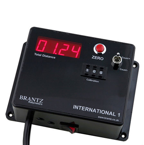 Brantz International 1 Pro Tripmeter - EARS Motorsports. Official stockists for Brantz-BR13