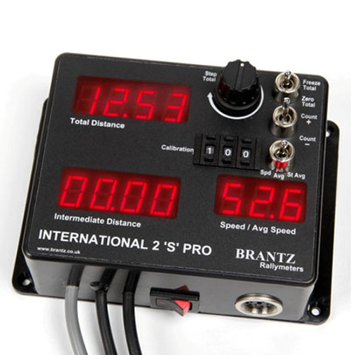 Brantz International 2 S Pro Tripmeter - EARS Motorsports. Official stockists for Brantz-BR7