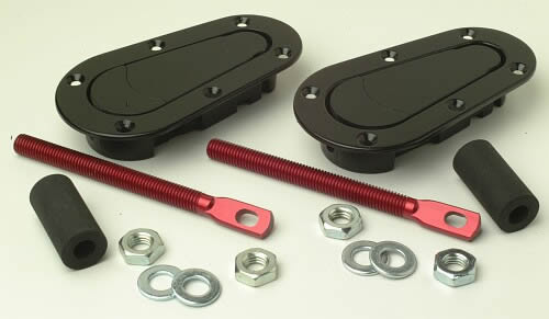 Aerocatch Plus Flush Bonnet Pins - EARS Motorsports. Official stockists for Aerocatch-T120-2000