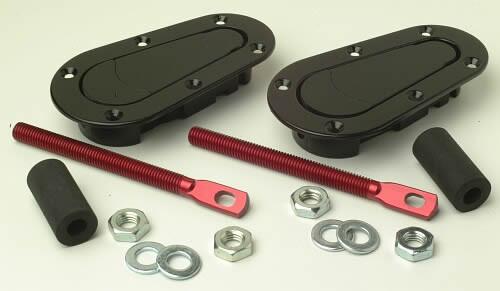 Aerocatch Plus Flush Bonnet Pins - EARS Motorsports. Official stockists for Aerocatch-T120-2000
