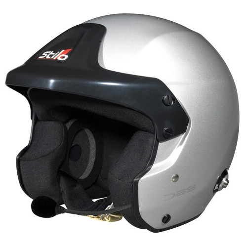 Stilo Trophy DES Rally HANS Helmet - EARS Motorsports. Official stockists for Stilo-AA0110DG2M