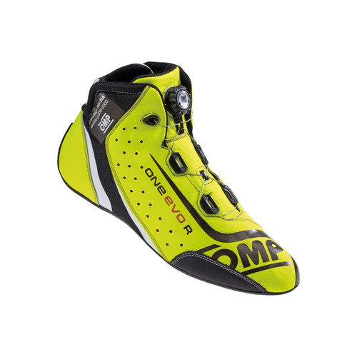 OMP One Evo R Race Boots - EARS Motorsports. Official stockists for OMP-IC/805