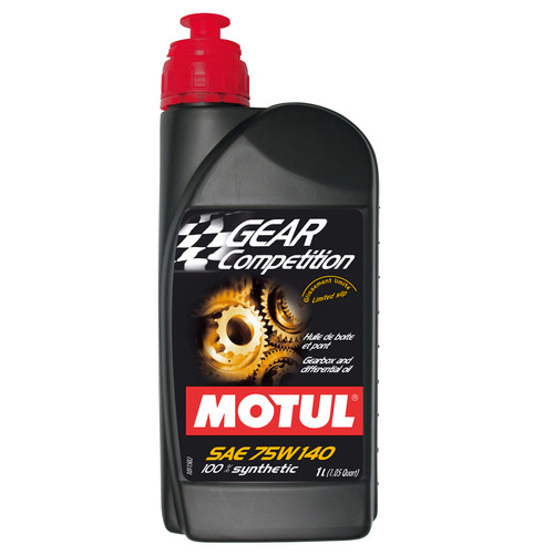 Motul Gear Competition 75w140 (1 Litre) - EARS Motorsports. Official stockists for Motul-MT75W140