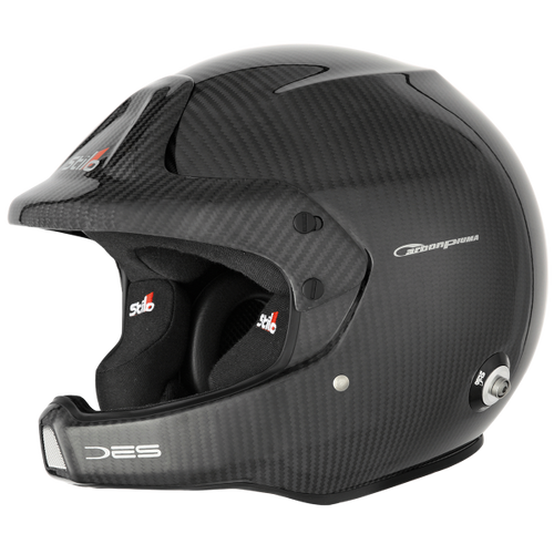 Stilo WRC DES Carbon Rally (PIUMA) Helmet - EARS Motorsports. Official stockists for Stilo-AA0210BG1M