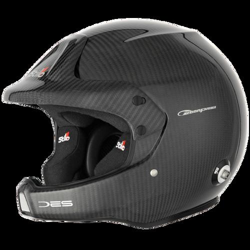 Stilo WRC DES Carbon Rally (PIUMA) Helmet - EARS Motorsports. Official stockists for Stilo-AA0210BG1M