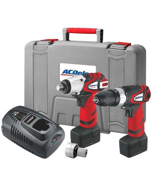 AC Delco Nut Gun & Drill Combi Kit