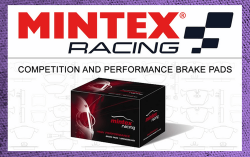 Mintex Front Brake Pads (Red Brembo, Evo 5-9)